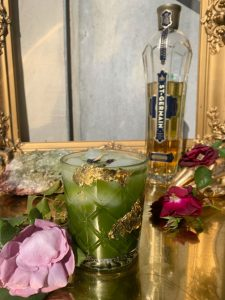 heart of gold St. Germain cocktail recipe