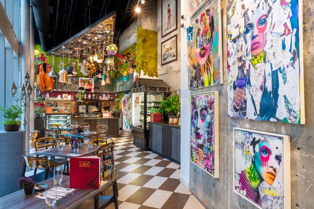 LaMuse Restaurant Avant Gallery