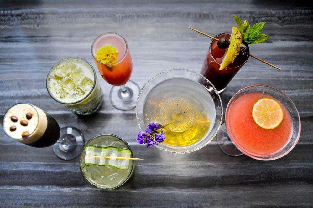 LaMuse Restaurant cocktails