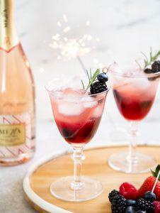 Mezza Summer Sparkler cocktail recipe