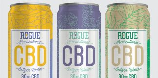 Rogue Recreational CBD Seltzer Water