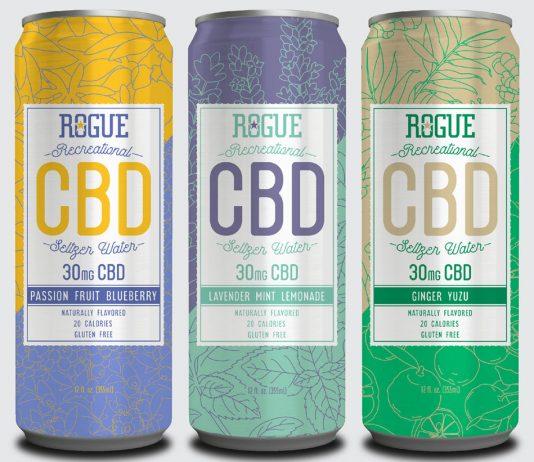 Rogue Recreational CBD Seltzer Water