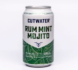 Cutwater's Rum Mint Mojito canned cocktail