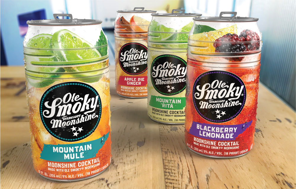 Ole Smoky canned cocktails