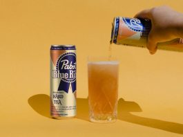 Pabst Blue Ribbon's Hard Tea