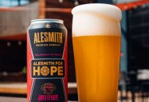 Anvil of Hope AleSmith for Hope Hazy IPA