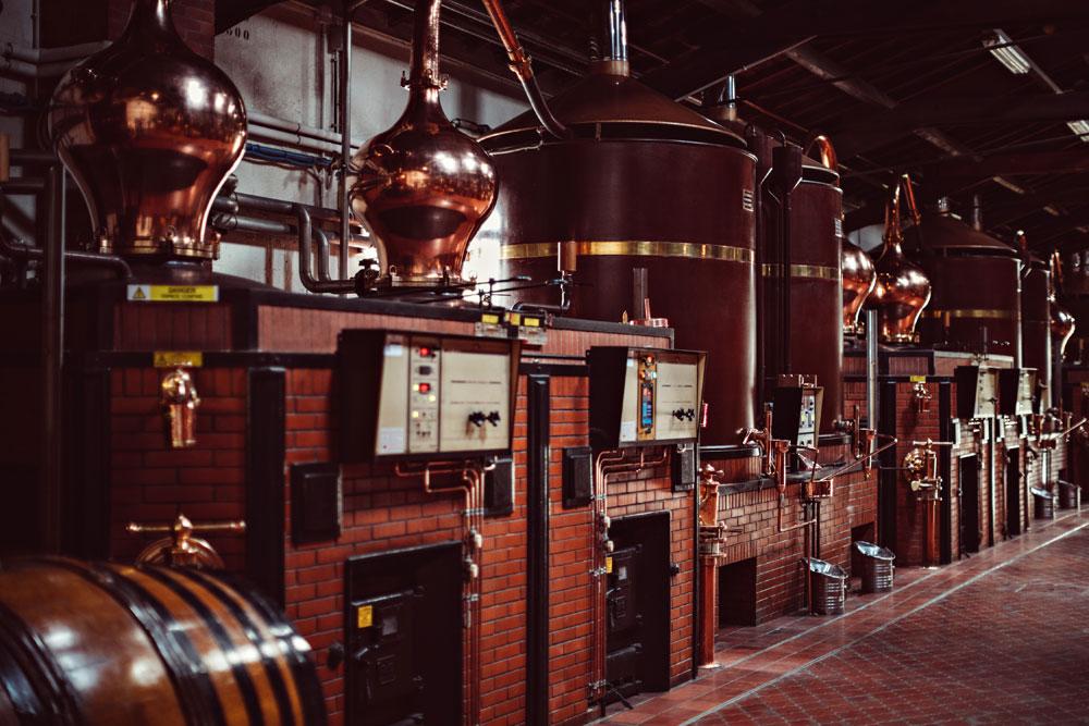 cognac distilling