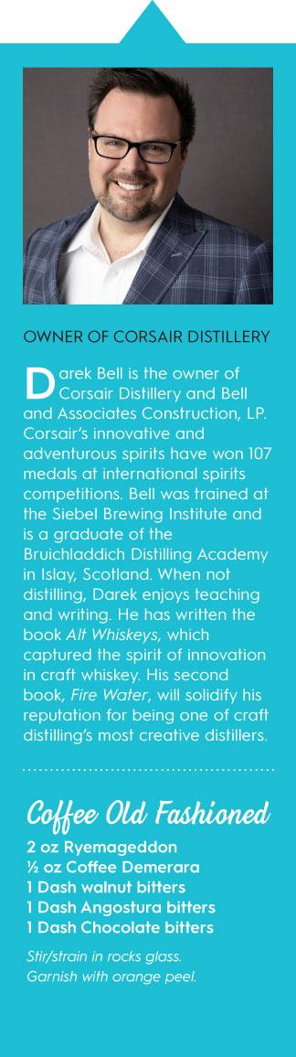 Corsair Distillery Darek Bell