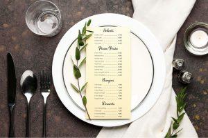 Monadnock sustainable menus