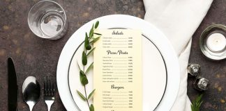 Monadnock sustainable menus