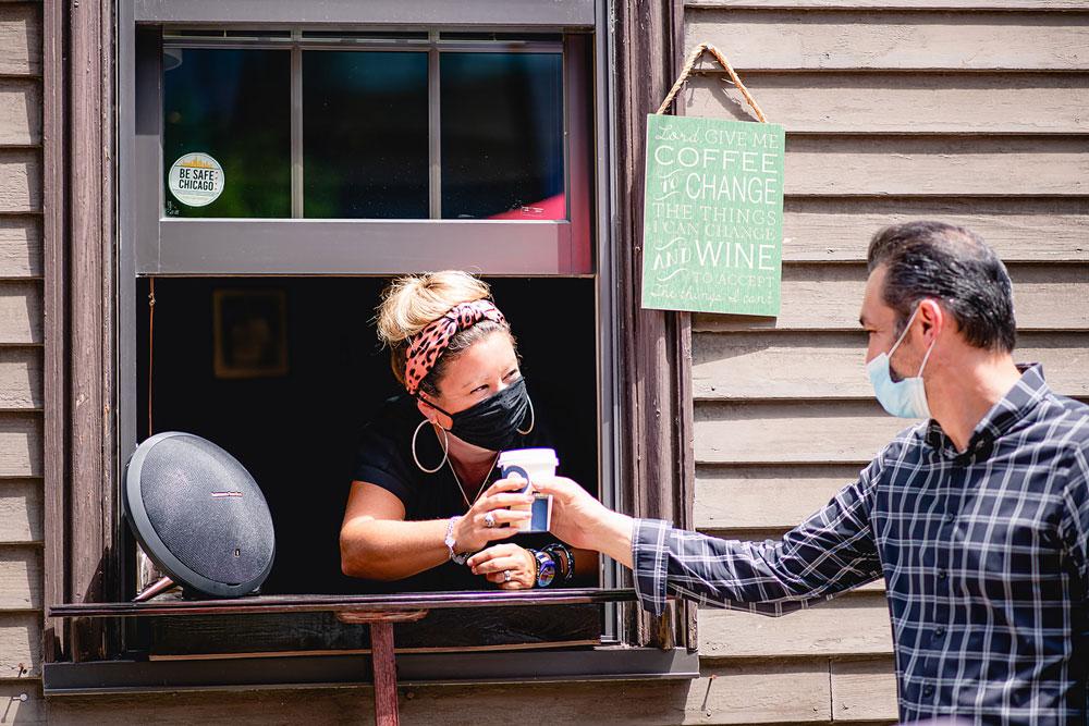 Gene & Georgetti bar ida window