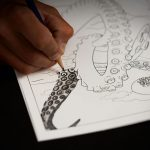 Kraken Rum Coloring Book