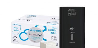 Sofidel Papernet Heavenly Soft Door Tissue and Defend Tech