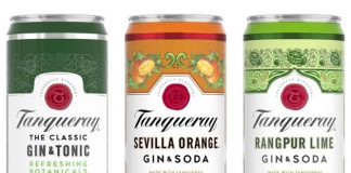 Tanqueray Crafted Gin Cocktails in a Can
