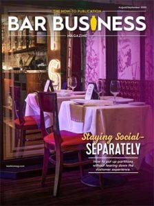 August/September 2020 Bar Business Magazine