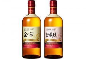 Nikka Whisky apple brandy barrels