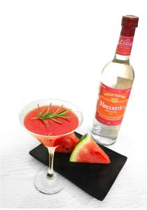 Watermelon Mezcalini labor day weekend cocktails