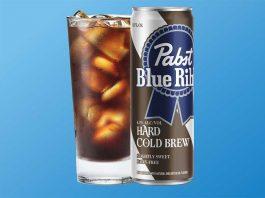Pabst Blue Ribbon hard cold brew