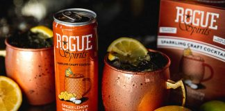 Rogue Ales & Spirits Ginger Lemon Whiskey Mule