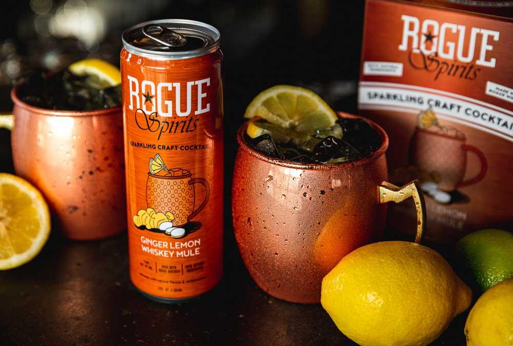 Rogue Ales & Spirits Ginger Lemon Whiskey Mule