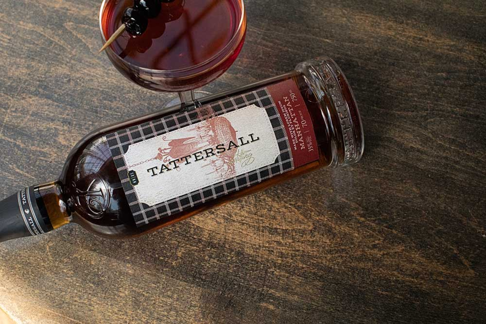 Tattersall bottled Manhattan