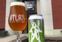 Atlas Brew Works Giant Flaming Zombie Polar Bear