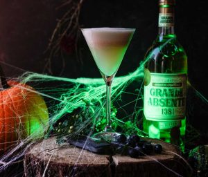 halloween cocktail recipes absinthe