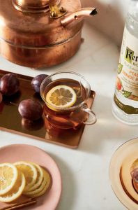 fall cocktail recipes peach toddy