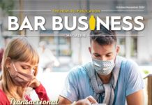 Bar business magazine october/november 2020