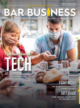 Bar business magazine october/november 2020
