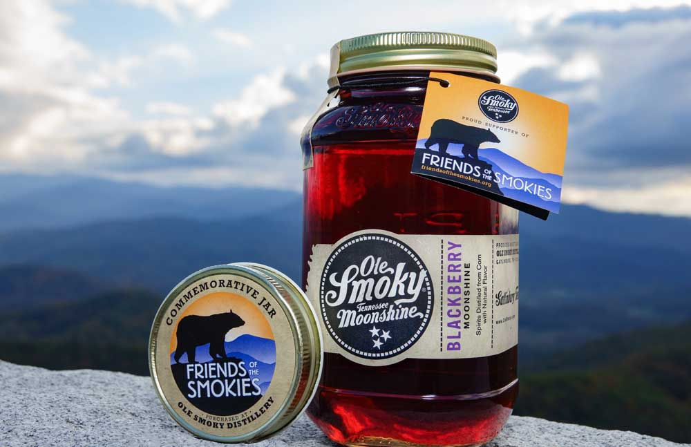 Ole Smoky 'Friends of the Smokies' Blackberry Moonshine