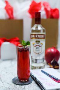 pomegranate mimosa smirnoff