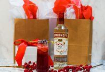 smirnoff winter cranberry mimosa