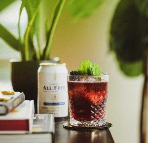 Suntory ALL-FREE spirit-free cocktail recipes