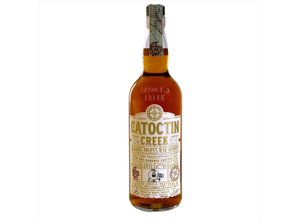 Catoctin Creek Distilling Company Peach Barrel Select Rye Whisky