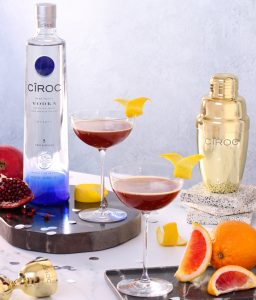 Ciroc vodka new year's eve cocktail recipes