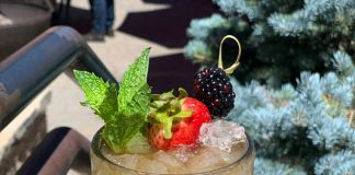 High West christmas cocktail recipe