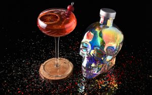 Midnight Sparkle crystal head vodka new year's eve cocktail recipe