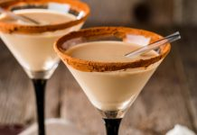 cocoa martini vodka holiday cocktail recipes