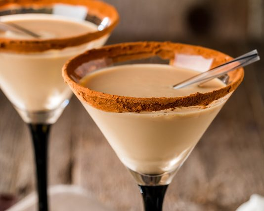 cocoa martini vodka holiday cocktail recipes