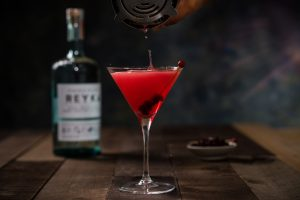 cranberry spiced martini
