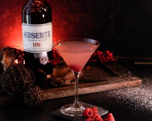 absinthe holiday cocktail recipe