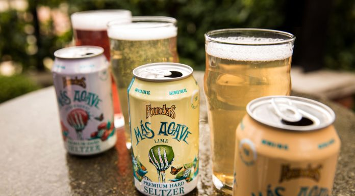 Founders Brewing Más Agave Premium Hard Seltzer