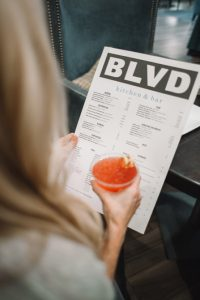 menu psychology