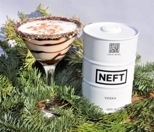 neft snowy day cocktail recipe