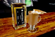 santera tequila hot chocolate