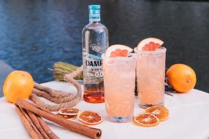 Virgin Paloma dry january recipes
