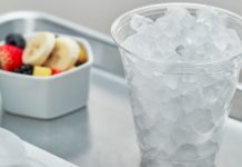 Hoshizakai cubelet ice dispenser water dispenser