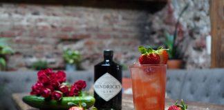Hendrick's strawberry cocktail recipe