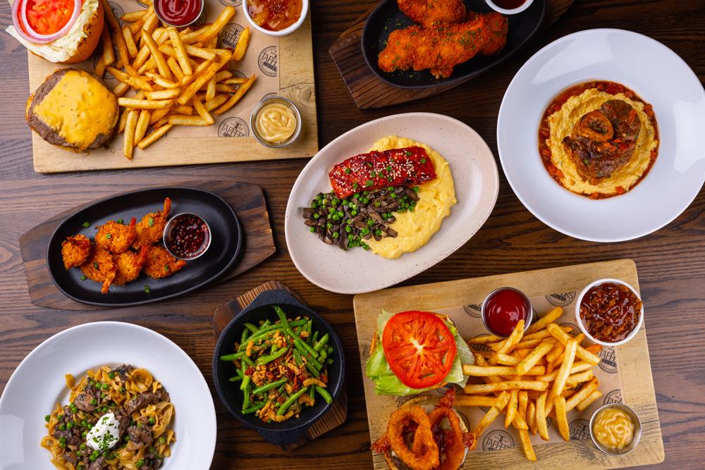 Taffer's Tavern food
